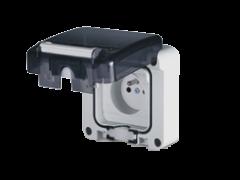 Vypínače a zásuvky 230V IP20 - IP66